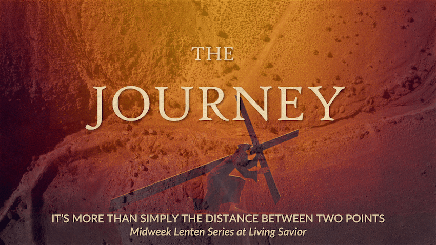 The Journey midweek lent tv